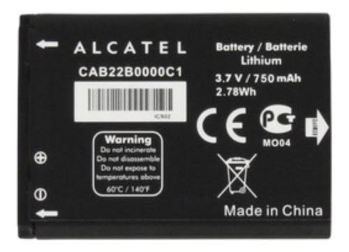 Bateria Alcatel Pop C3 Ot4015-ot4033-ot983-ot5020