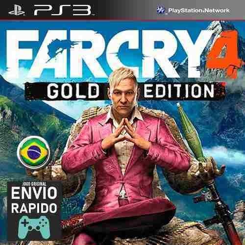 Far Cry 4 Gold Edition + Todas As Dlcs - Jogos Ps3 Original