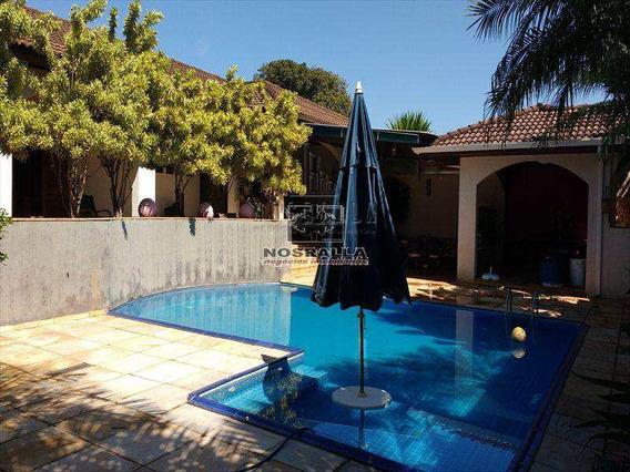 Casa Em Jaboticabal Bairro Centro - V468200