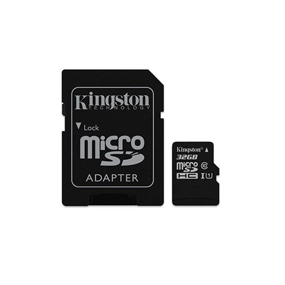 Kingston Digital 32 Gb Microsdhc Class 10 Uhs-1 Memory Card