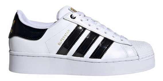 Zapatillas adidas Originals Superstar Bold Bla/neg De Mujer