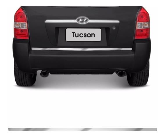 Friso Traseiro Porta Malas Hyundai Tucson 04 A 14 Cromado