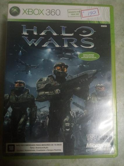 Vendo Jogo Xbox 360 Halo Wars Ntsc Lote150