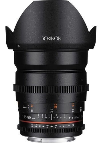 Lente Rokinon 24mm T1.5 Cine Ds Sony E-mount ( Ds24m-nex )