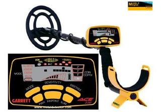 Garrett Ace 250 Detector De Metales Con Bobina Sumergible.