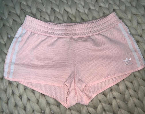 Short adidas Original Mujer Rosa Talle M Impecable