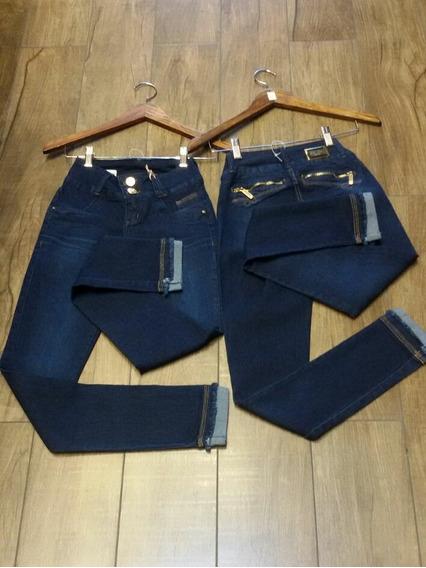 Calça Jeans Com Lycra Darlook Lançamento Ref.38421