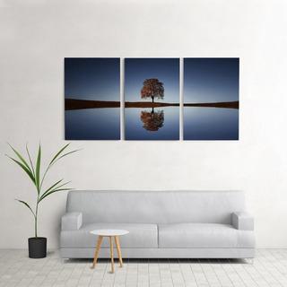 Quadro Decorativo Para Sala 60x120cm Árvore Quarto Grande