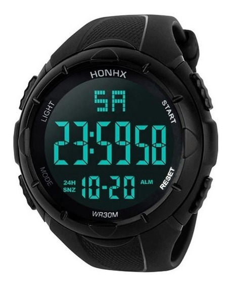 Relógio Masculino Digital Esportivo Led Sport Watch