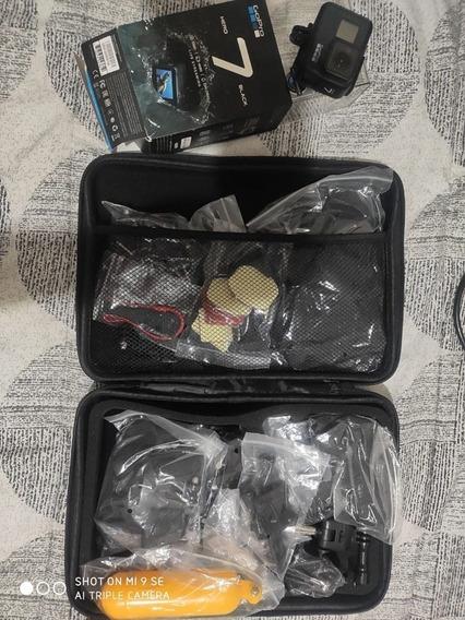 Go Pro Hero 7 Black + Kit + Cartão 64gb (pra Levar Hoje)!!