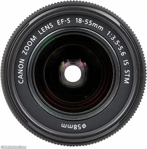 Lente Canon 18-55mm Ef-s F/3.5-5.6 Is Stm Promoção