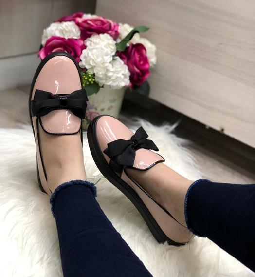 Zapatos Casuales Brillantes Para Dama Moda Colombiana