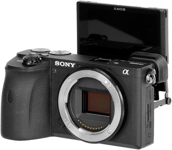 Câmera Nova Sony Alpha A6600 Corpo 4k +nf-e Gar. Sony Brasil