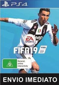 Fifa 2019 Ps4 Psn Fifa 2019 Conta 2 Playstation 4 - Online