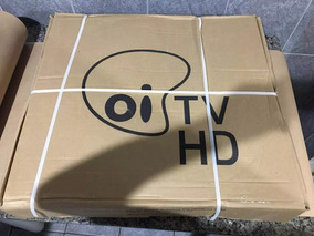 Antena Ku 60cm Kit 6 Logo Oi Sem Lnbf Sem Cabo Caixa Fechada