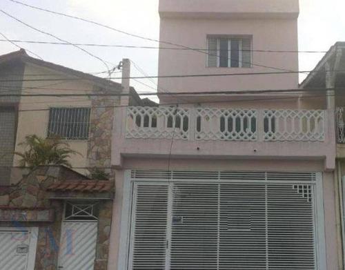 Imagem 1 de 16 de Sobrado Com 3 Dormitórios À Venda, 139 M² Por R$ 380.000,00 - Parque João Ramalho - Santo André/sp - So0316