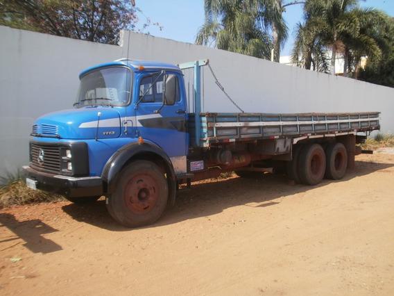 Mb 1113 68 Truck Carroceria (não Aceita Troca)
