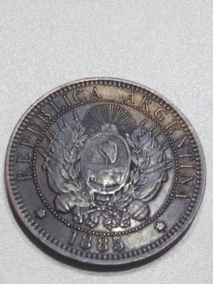 Moneda 2 Centavos 1885 Argentina