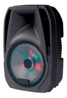 Parlante Netblue Portatil 4500 W Karaoke Bluetooth Guitarra