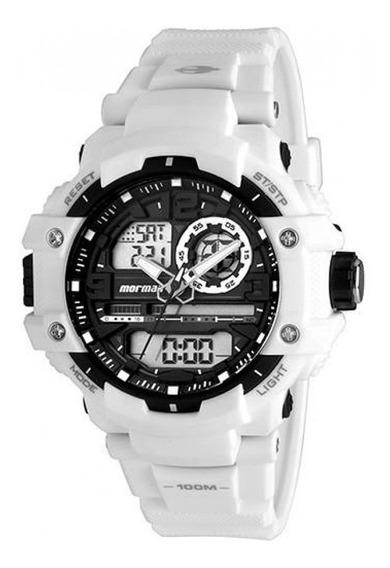 Relógio Technos Mormaii Mo0949/8c Branco