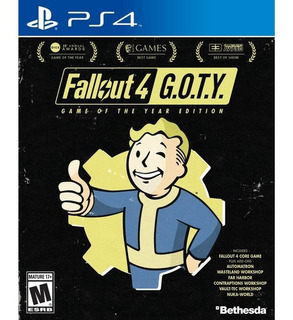 Fallout 4 Game Of The Year Goty Ps4 Físico Envío Gratis!