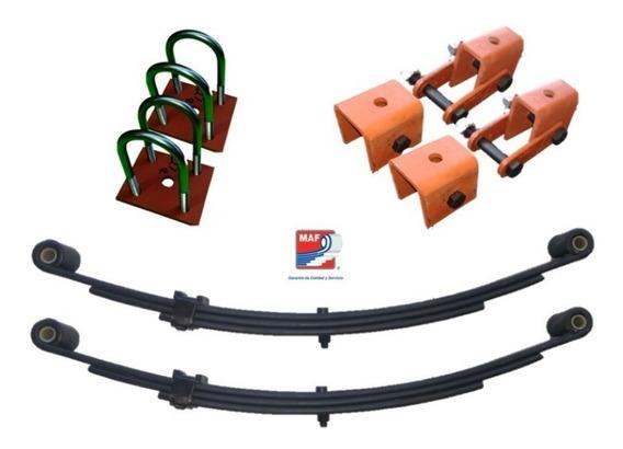 Kit De Suspension Completa Para Remolque 2000 Lb Muelles