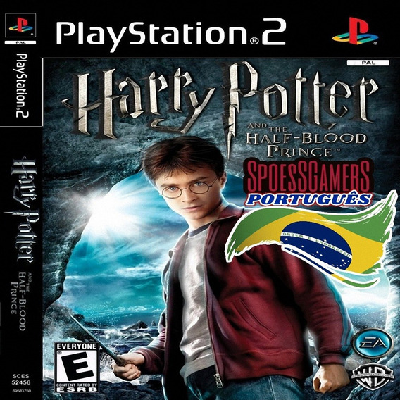 Harry Potter Ps2 E O Enigma Do Príncipe Português Patch Me