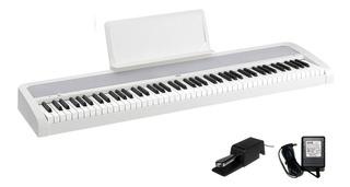 Piano Electrico Fx Con Parlantes 9w Pedal Korg B1 88 Teclas