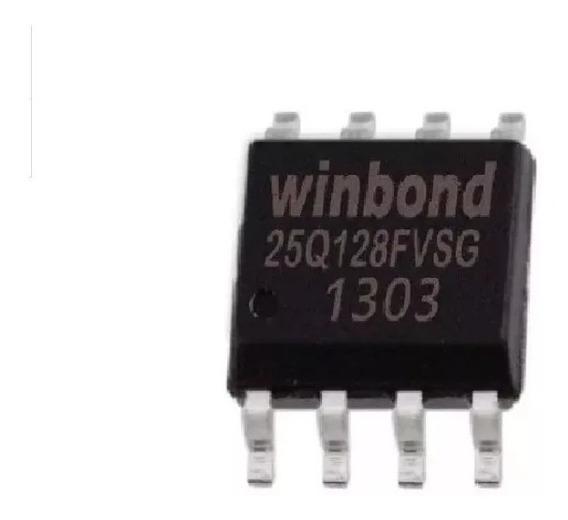 25q128fvsg 25q128 Winbond 3.3v Eprom Bios Virgem
