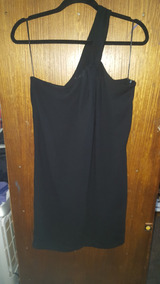 Vestido De Fiesta Negro Zara