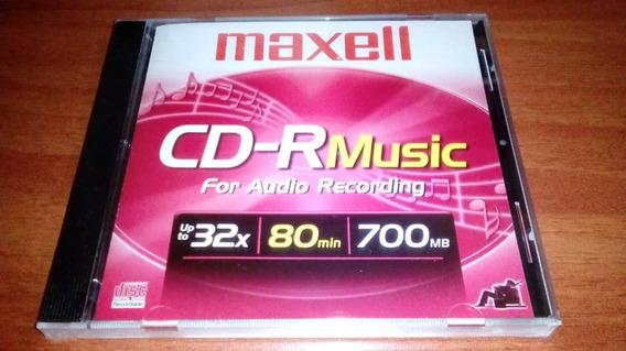 Cd Virgen Maxell Music 80min 700mb
