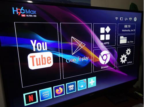 Tv Box Android H96max 4k Ultra Hd