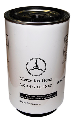 Filtro Combustible Mercedes-benz Atron 1720