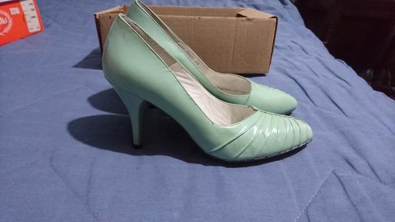 Zapato Tacón Mujer Negro Zarina