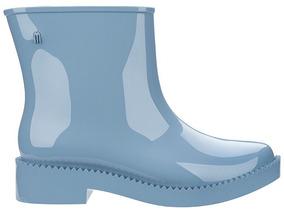 Melissa Rain Drop Boot 37 Azul Bota Nova Original