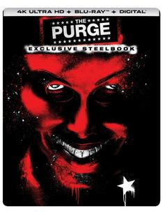 The Purge 4k Steelbook Ed. Limitada