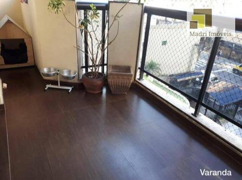 Apartamento Com 4 Dormitórios À Venda, 117 M² Por R$ 1.150.000,00 - Vila Leopoldina - São Paulo/sp - Ap0698