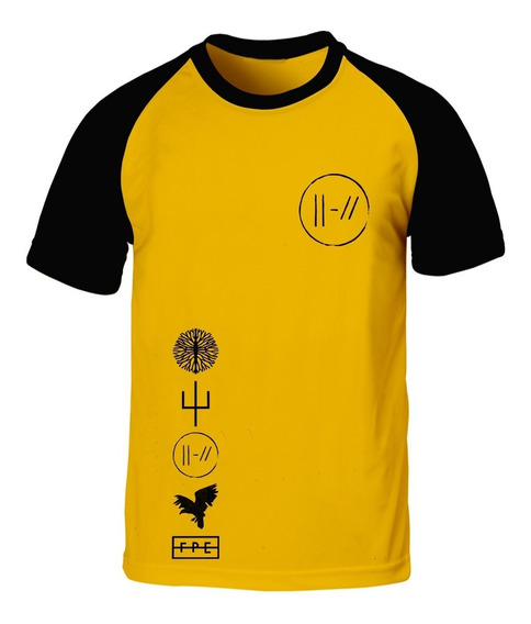 Remera Twenty One Pilots Top Amarillo Trench Logos