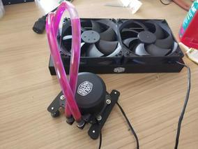 Water Cooler Master 240 Mm Sem Fan Customizado