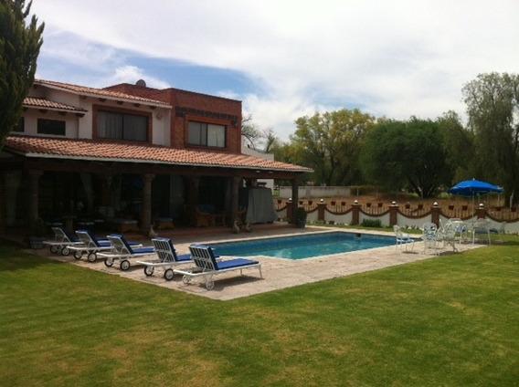 Se Renta Casa En Tequisquiapan Club De Golf Con Alberca