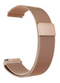 Pulseira Milanese Novas Cores Amazfit Bip/ Samsung Gear 20mm