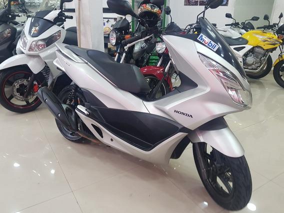 Honda Pcx 150 2018 Prata 17000 Km