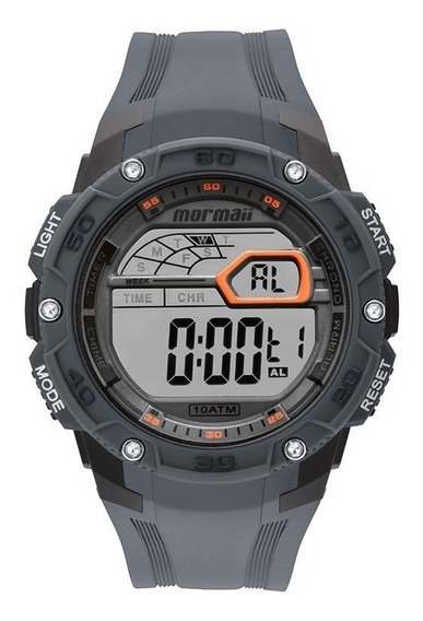 Relógio Mormaii Mo9670ac8c Chumbo