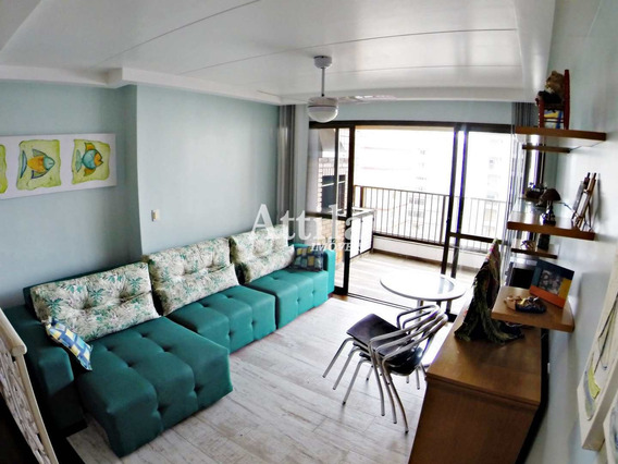 Apto 4 Dorms. Vista Para O Mar, Lazer, 2 Vagas, Astúrias - V1185