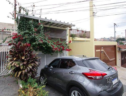 Imagem 1 de 30 de Sobrado Com 3 Dormitórios À Venda, 155 M² Por R$ 620.000,00 - Jaguaribe - Osasco/sp - So0722