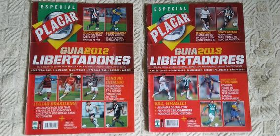 Lote Revista Placar Guia Libertadores Frete Grátis/