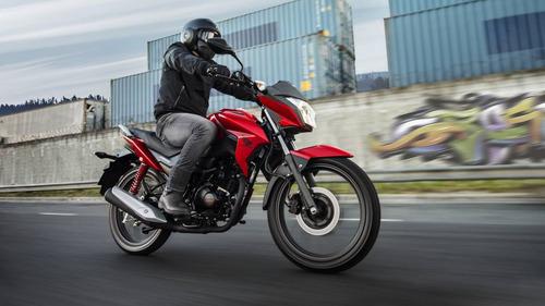 Imagen 1 de 12 de Honda Cb 125 Twister Okm Financio Centro Motos