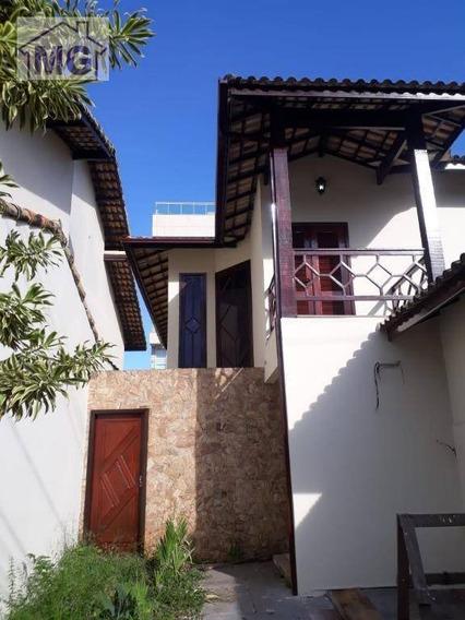 Casa Com 3 Dormitórios Para Alugar, 176 M² Por R$ 6.000/mês - Praia Campista - Macaé/rj - Ca0221
