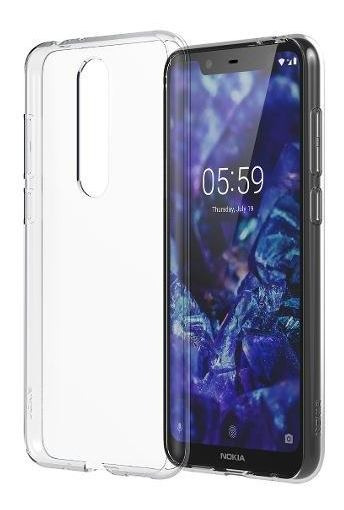 Funda Clear Transparente Nokia 5.1 Plus