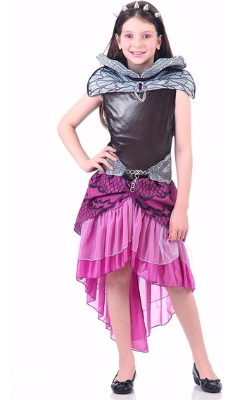 Fantasia Ever After High - Raven Queen Infantil Luxo